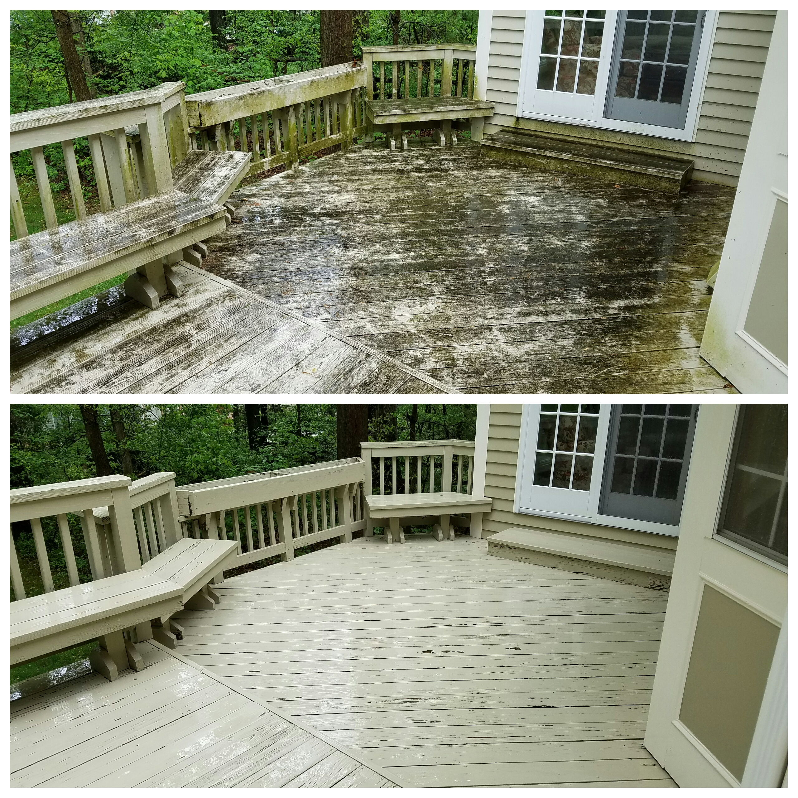 Deck Cleaning, Pressure Washing