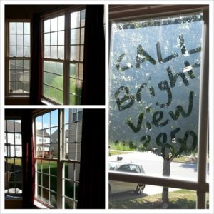 Window Cleaning by Brightview Cleaning in Maryland