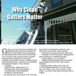 Eclean Magazine: Why Gutter Cleaning is needed
